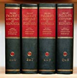 img - for The New Palgrave: A Dictionary of Economics (4 Volume Set) book / textbook / text book