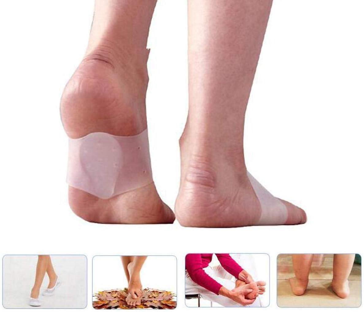 2 Almohadillas ortopédicas de Silicona para aliviar el Dolor de pies y la Fascitis Plantar: Amazon.es: Deportes y aire libre
