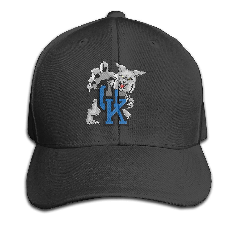 Kentucky Wildcats Hats Adjustable Black Baseball Cap