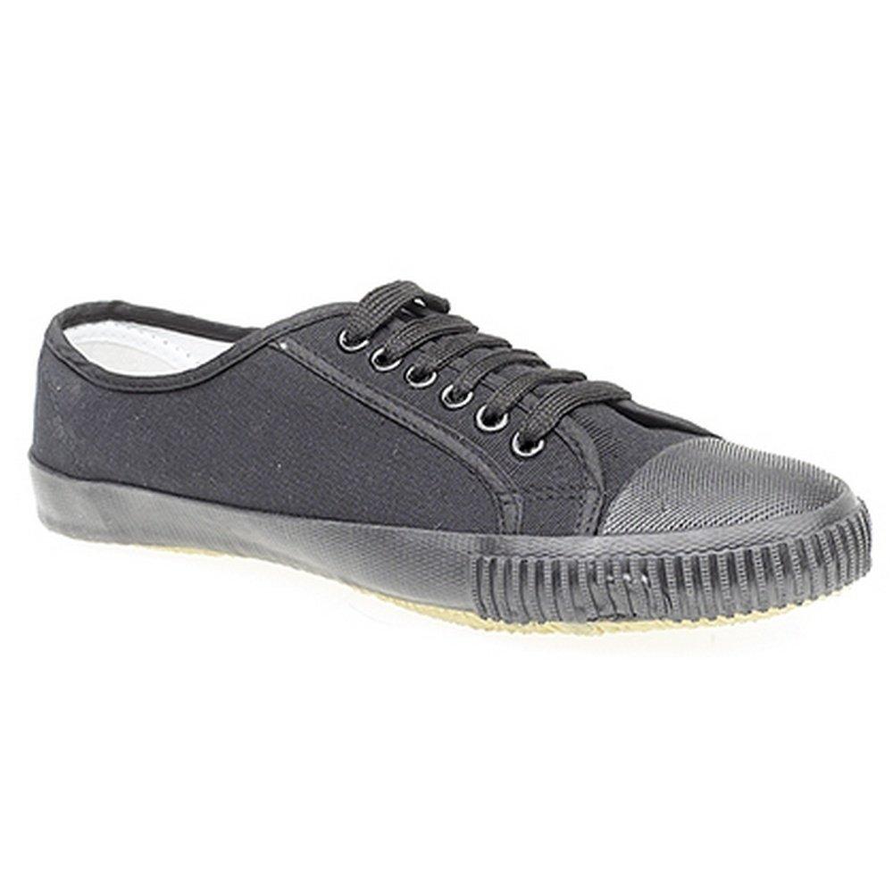 DEK - Zapatillas de Tela con Cordones y Puntera de Goma Unisex Hombre Mujer