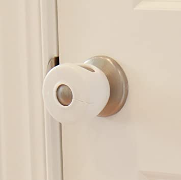 Amazon.com : Door Knob Covers - 2 Pack - Child Safety Cover - Child ...