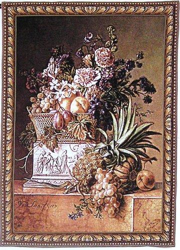 Handicraft Company Fleurs Et Fruit Wall Tapestry