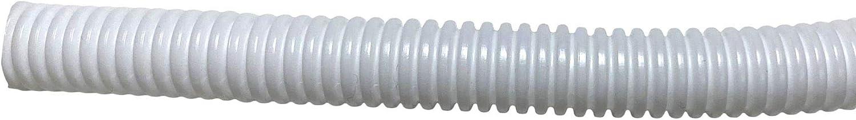 5m PE Black Corrugated Flexi Pipe Tube Non-Split 10mm