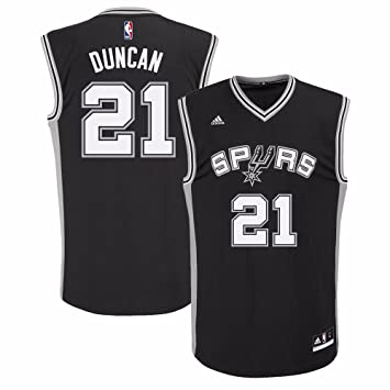Amazon.com: Tim Duncan San Antonio Spurs NBA adidas Men s ...