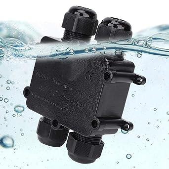 Caja de Empalme, Plástico Exterior Resistente al Agua IP68 ...