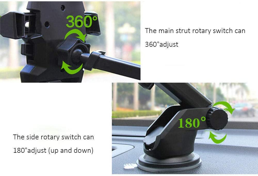Globa Rep Adjustable Holder Car Mount for iPhone Cell Phone Universal Cup Holder for iPhone 11 Pro XR XS Max X 8 Plus 7 SE Samsung Note 10 Ultra S10 S9 A71 A51 A21 A11LG Stylo 9 Galaxy S20