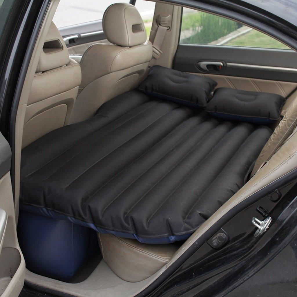 Ye Auto Matratze Auto Luft Bett Multifunktionale Reise Camping Auto Hinten Sitz Aufblasbare Matratze Für Reise und Schlaf Rest (135  85  45 cm) (Luftbett × 1 Kissen × 2 Auto Luftpumpe × 1)