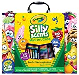 Scented Mini Inspirational Art Case Set, 16 Mini Twistables Crayons, 8 Slim and 8 Broad Line Washable Scented Markers, 20 Coloring Pages