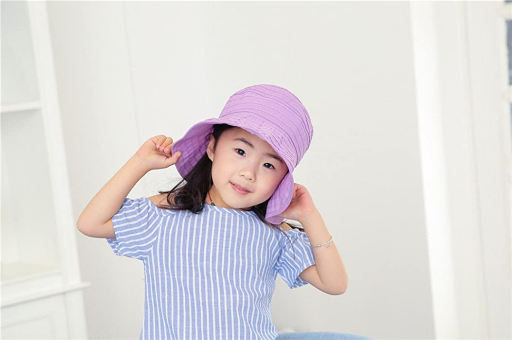 bb07a86d WENDYWU Baby & Toddler Flap Sun Protection Swim Summer Hat Baby Sun Hat