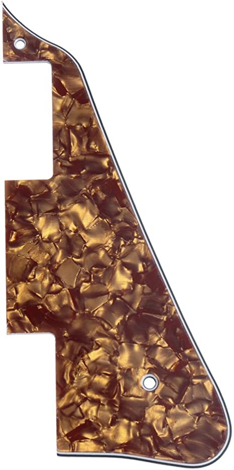 3 Ply, Cinnamon Pearl Electric Guitar Pickguard For Gibson Les Paul LP Parts Replacement 1 Pcs
