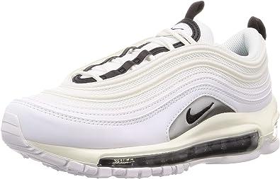 Nike Air Max 97 - Zapatos para mujer (8.5, blanco/negro/blanco)