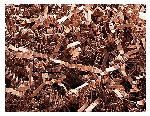 NWAMR-ZF10TA Natural Crinkle Cut Paper Shred 10 lb ~ Spring-fill Shred