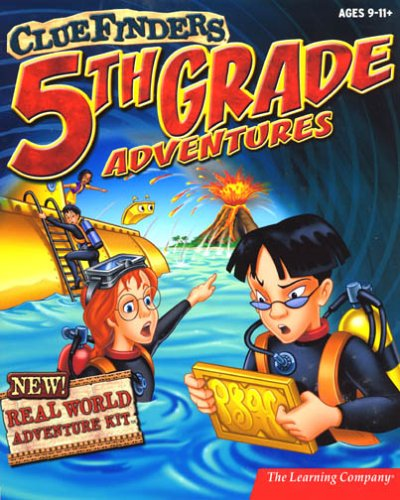 ClueFinders 5th Grade Adventures with Real World Adventure Kit (Old Version)