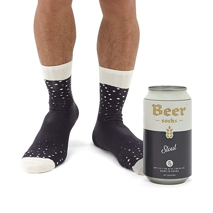 Amazon.com: Calcetines de cerveza para hombre, coloridos ...