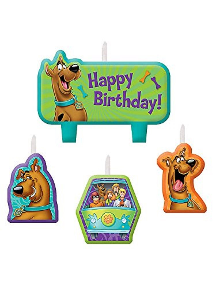 Amscan 1 X scooby-doo birthday candle set