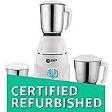 (Certified REFURBISHED) Orient Electric Kitchen Kraft MGKK50B3 500-Watt Mixer Grinder with 3 Jars (White)