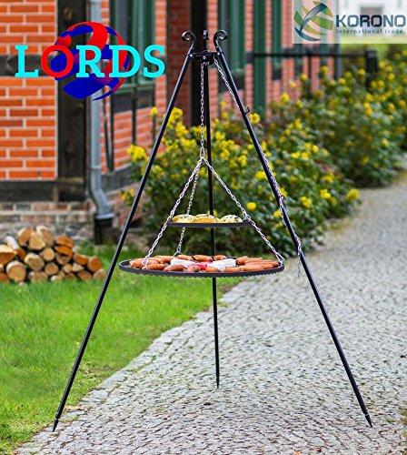 151schwarz Stahl 80cm + Schwarz Stahl 40cm Grill auf Stative Rod 5mm/Rahmen 20x 4mm Hand Made Hochwertige Verarbeitung Made in Polen