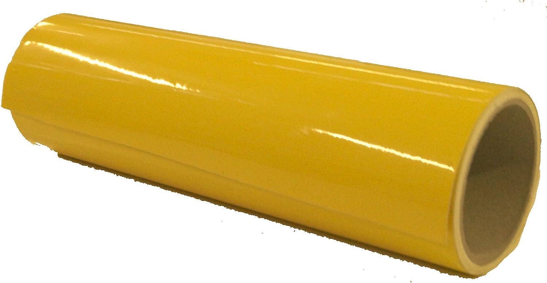 Indigos Ug Viperstreifen Glänzend Rennstreifen Aufkleber Rallystreifen Gelb 400 Cm X 25 Cm Fürs Auto Glas Beschriftungen Tuning Carstyling Viper Racingstreifen Für Tuning Autorennen Motorrad Auto