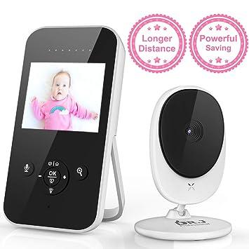 Amazon.com: Monitor de vídeo para bebé, cámara digital LCD ...