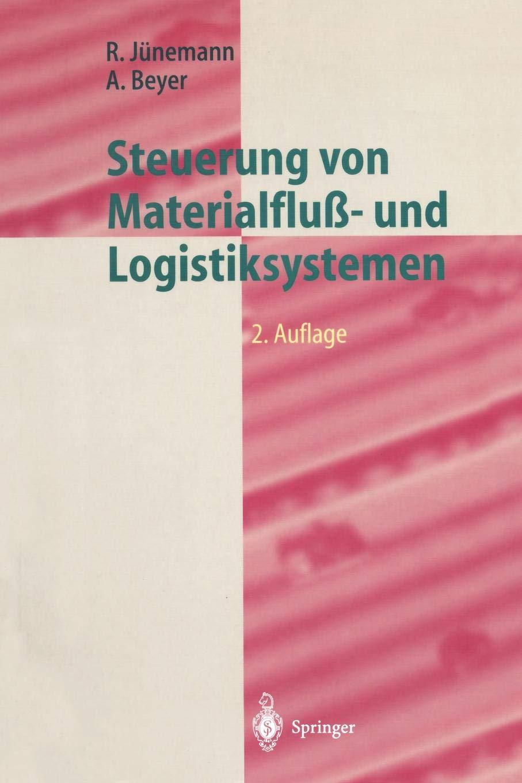 Steuerung Von Materialfluß  Und Logistiksystemen  Informations  Und Steuerungssysteme Automatisierungstechnik  Logistik In Industrie Handel Und Dienstleistungen