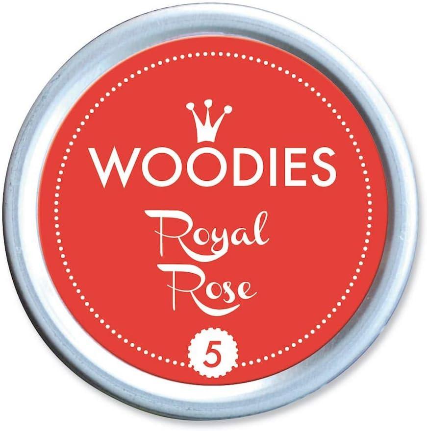 3/Pezzi Woodies Inchiostro a Base Dye Latta Rosa Reale Multicolore Acrilico