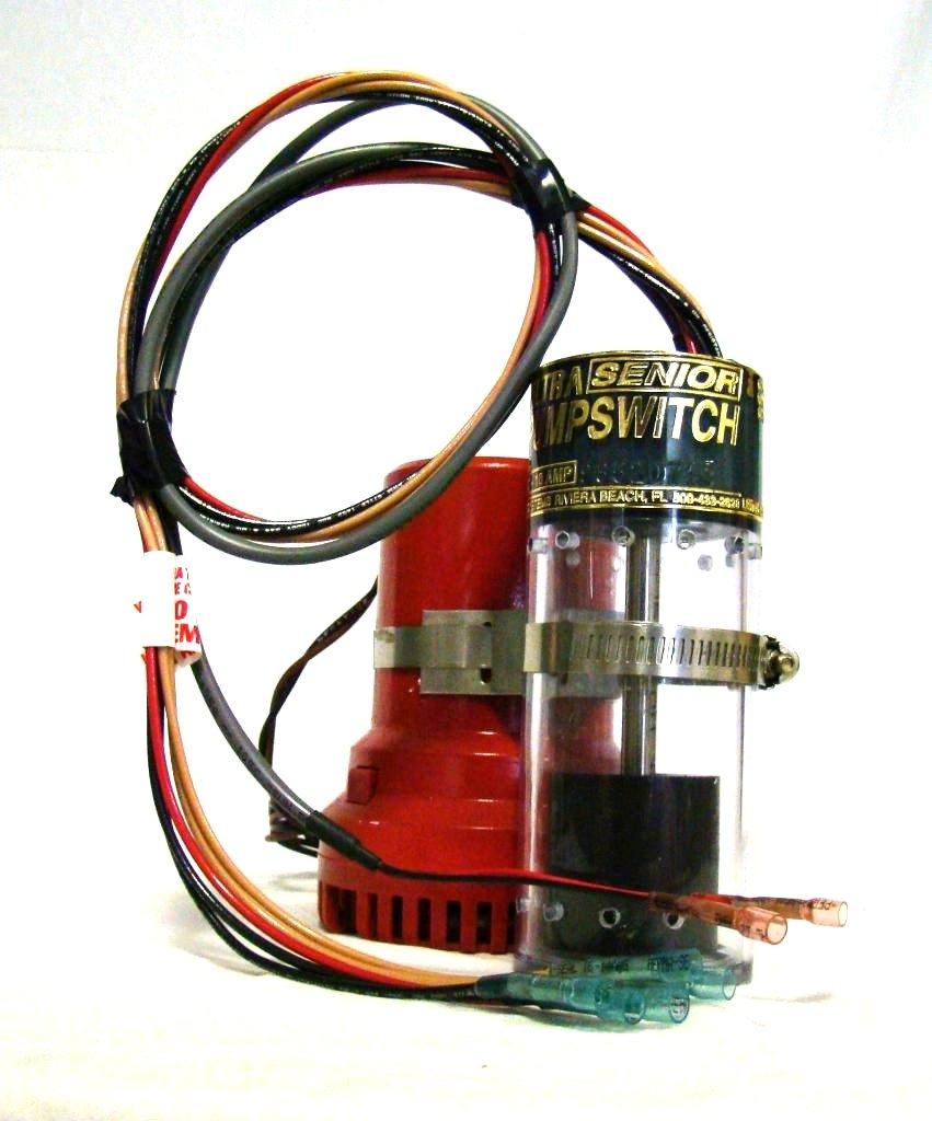 Ultra Safety Systems Pump Switch Sr. UPS-01-12 V Bilge Float Switch W/High Water Alarm Sensor by Ultra Pump Switch Sr.