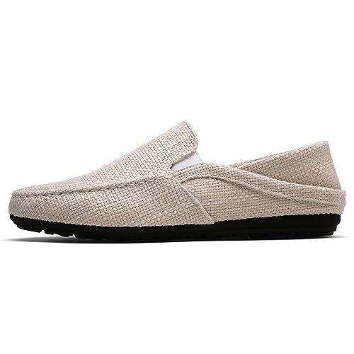 CáñAmo De Hombres Zapatos Alpargatas Barco Casual Transpirable Zapatos Hombres Mocasines Ultraligeros Perezoso: Amazon.es: Zapatos y complementos
