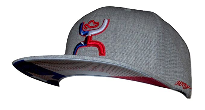 HOOey Texican Grey Snapback Hat - 1003H at Amazon Men s Clothing store  4d34dd9134b