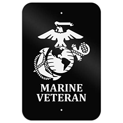 Amazon Graphics And More Marine Veteran Usmc White On Black