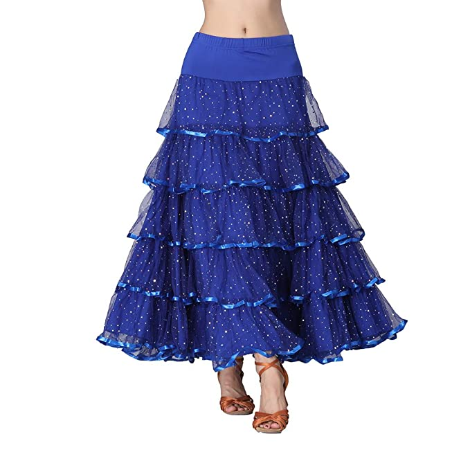 Tookang Flamenco Falda Grande del Columpio Vestido de Baile ...