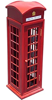 Superieur D ART COLLECTION Mahogany London Telephone Display Case, Mini