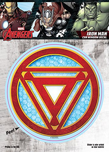 iron man car window decal - 5
