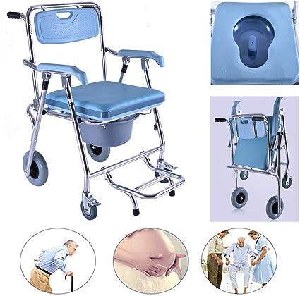 Sedia Da Toilette Sedia A Rotelle Per Toilette Per Anziani