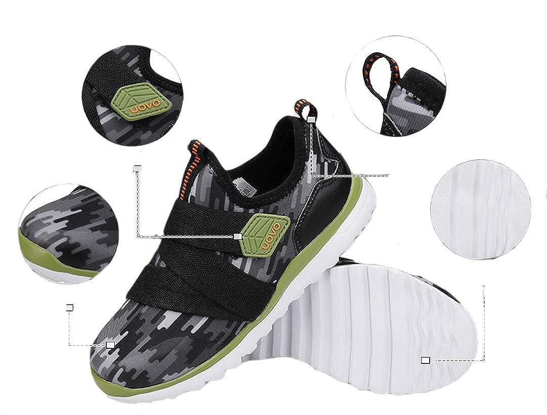 iDuoDuo Boys Girls Light Weight Lycra Sport Shoes Anti-Collision Running Trainers Little Kid//Big Kid
