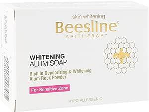 Beeslin Whiteining Alum Soap, 110 G