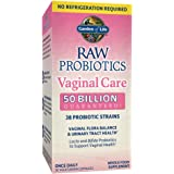 Garden of Life Raw Probiotics Shelf Stable Capsules, Vaginal Care, 30 Count