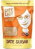 Organic Date Sugar, 12 oz | 100% Whole Food Sweetener | Vegan, Paleo, Gluten-free & Kosher | 100% Ground Dates…