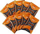 Unscented Facial Cleansing Wipes - HyperGo After Sports Wipes, Pack of 10