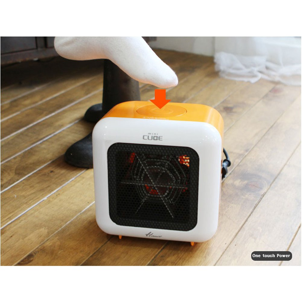 Hanil Cube HEF-720 Portable Electric Compact Mini Heater Fan