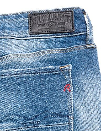 9 Jeans Azul Brigidot Denim Ajustados Blue para Mujer REPLAY P816nOq5n