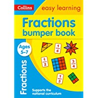 Fractions Bumper Book Ages 5-7: Ideal for Home Learning