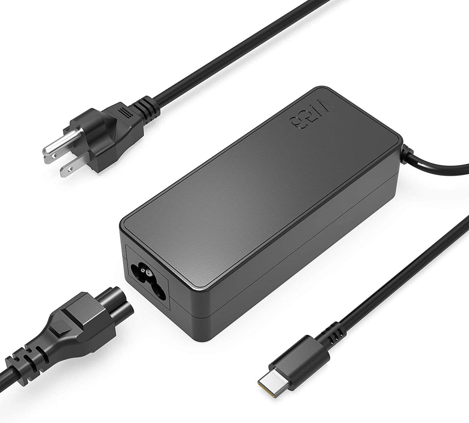 65W Type C USB Laptop Charger Fit for Dell Latitude 7410 7310 7210 9510 9410 5520 5420 5320 2in1 AC Power Adapter Supply Cord
