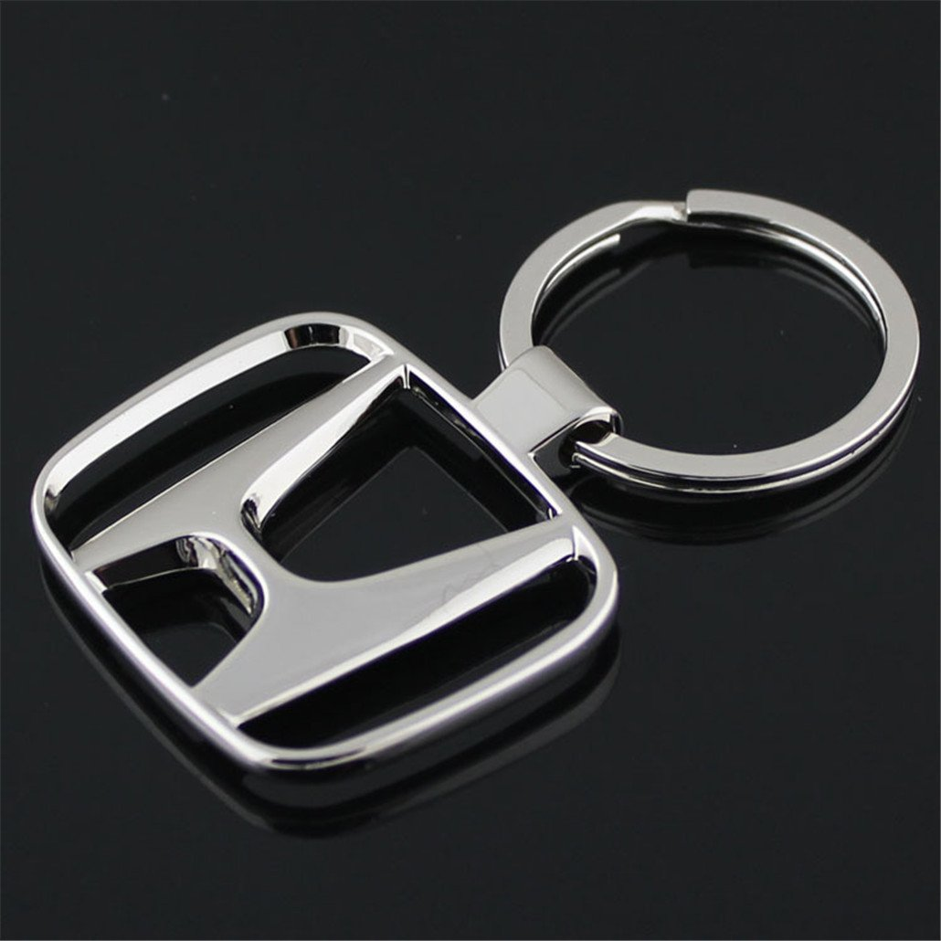 Fashion Metal Fashion Metal Car Logo Keychain Key Chain Keyring Key Ring For Honda