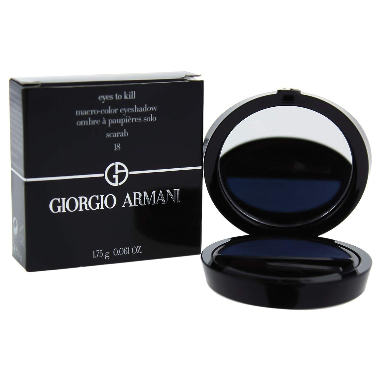 Giorgio Armani Eyes To Kill Solo Eyeshadow, No. 18 Scarab, 0.061 Ounce