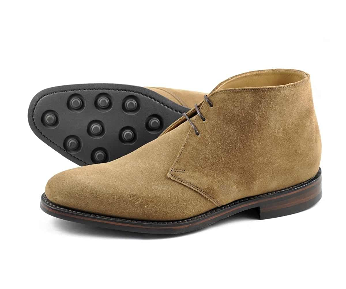Loake Pimlico Mens Tan Suede Chukka Boots: Amazon.co.uk