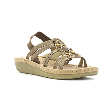 459950f57c6 Earth Spirit Womens Stone Slip On Sandal  Amazon.co.uk  Shoes   Bags