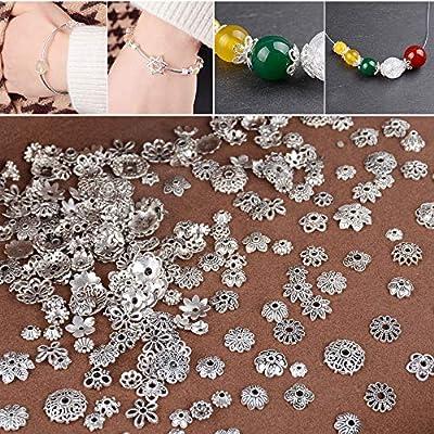 9d400976416d 100g Abalorios Espaciadores Mixtos Separador Abalorios Espaciador ...