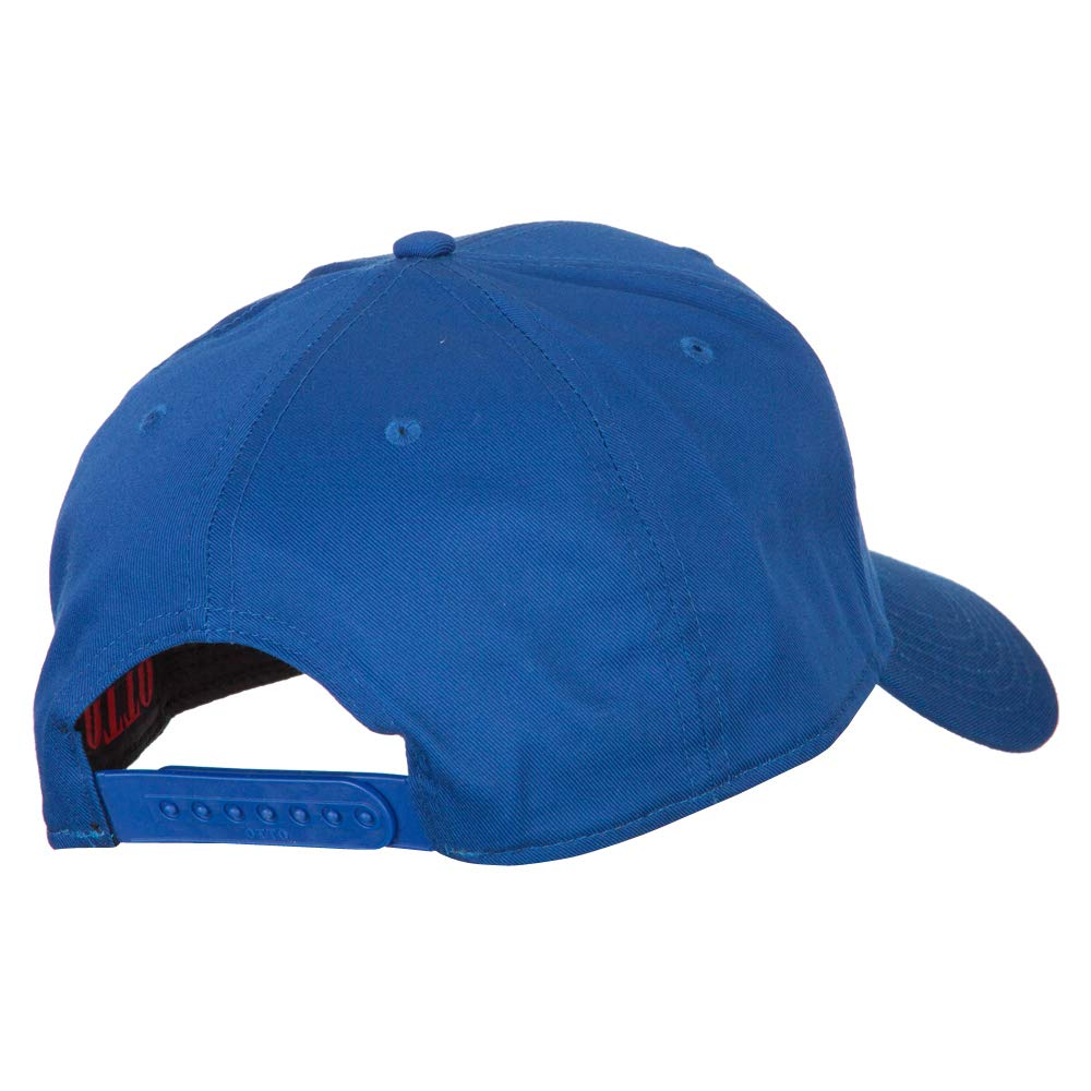Gramps Embroidered Solid Cotton Pro Style Cap