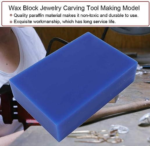 2 Farbe Wachs Block Schmuck Carving Tool Schmuck Wachsherstellung Modell Professionelle Zubehör Schmuckherstellung Geschnitzte Wachsröhre Schmuck Wachsmodellierung Armreif Form Für 1 Schmuck