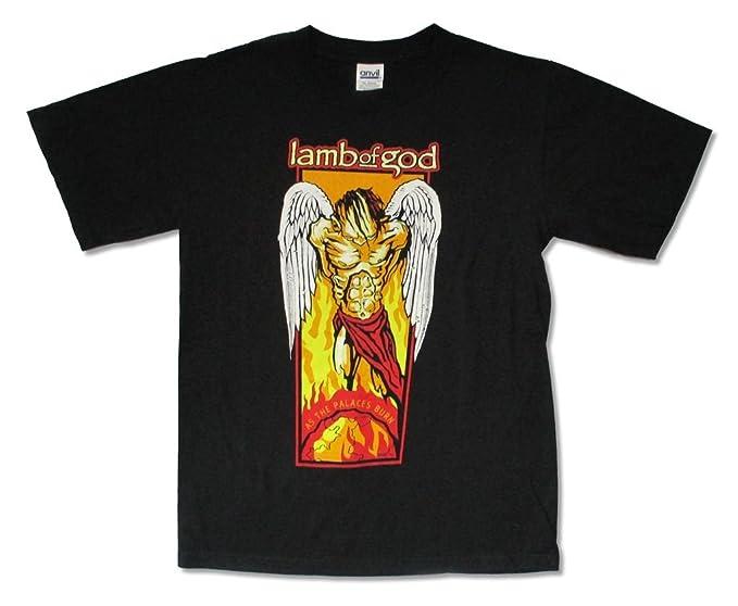 166581c04865 Amazon.com  Lamb of God As The Palaces Burn Black T Shirt Adult ...